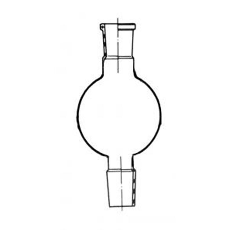 Ballon réservoir pour colonne chromato. 100ml rc 14/23