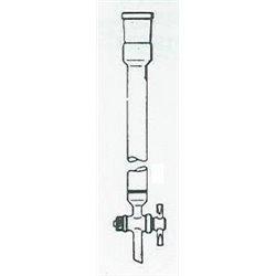Colonne chromato filtrante Ø ext .13mm - lu 200mm - porosité  4