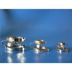 Clip acier inox rc 29/32 de fixation pour piège 269.029