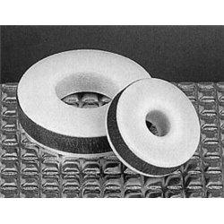 Joint percé de rechange - silicone / téflon Gl 14 - pour thermomètre Ø 6/7mm
