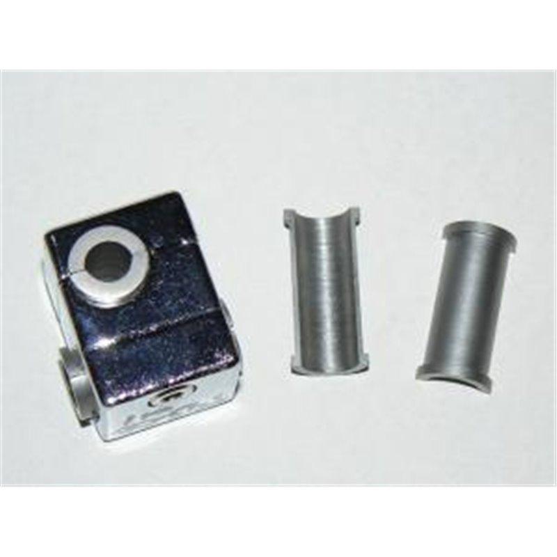 Entretoise pour noix carrée Ø 12mm - pour fixation avec tige Ø 8mm