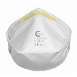 Masque de protection respiratoire FFP1 pliable horizontalement - x 20