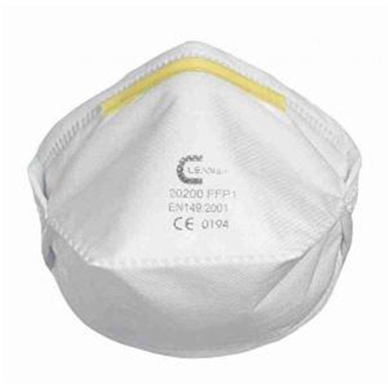 Masque de protection respiratoire FFP1 pliable horizontalement - x 20
