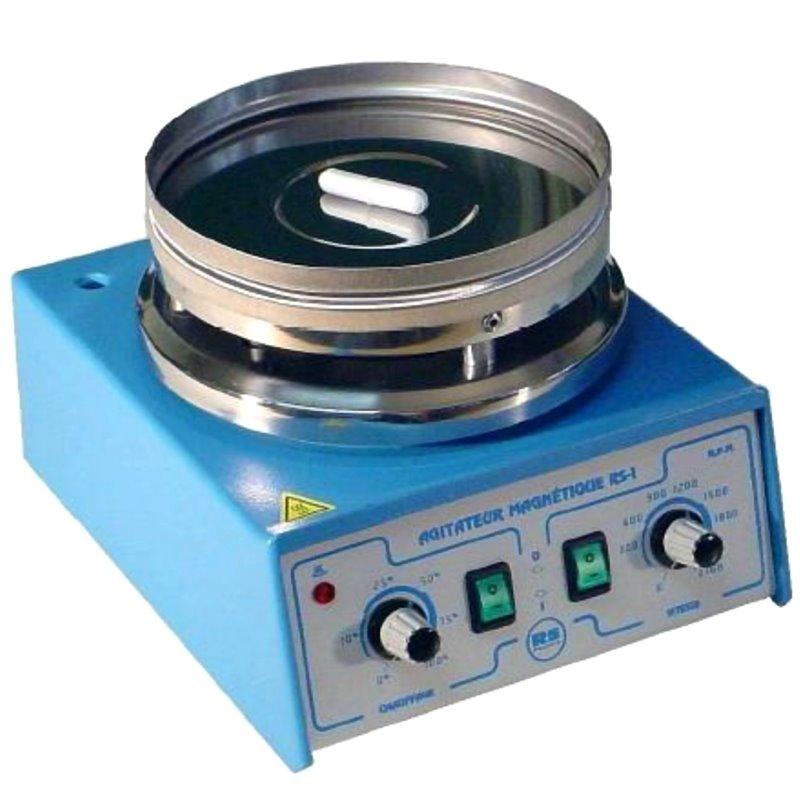 Agitateur magnétique analogique 20 litres non chauffant - plateau Ø 135mm