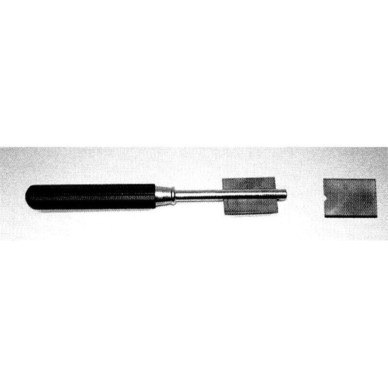 Couteau à verre lame courbée au carbure de tungstène