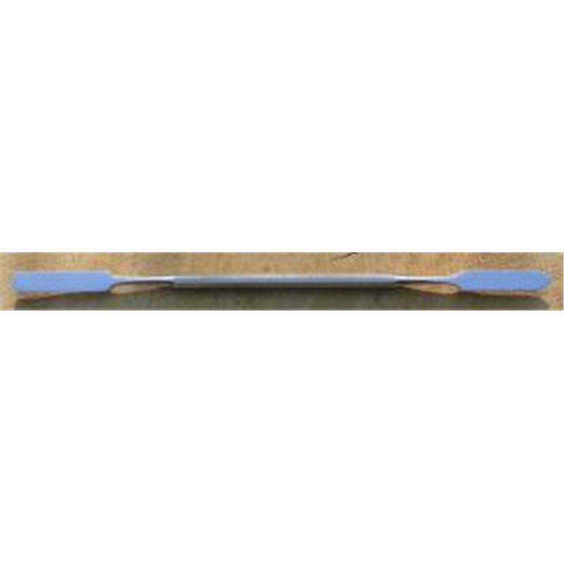 Spatule manche épais Lg. 190mm - 1 plat & 1 pointu largeur 7mm longueur 35mm***