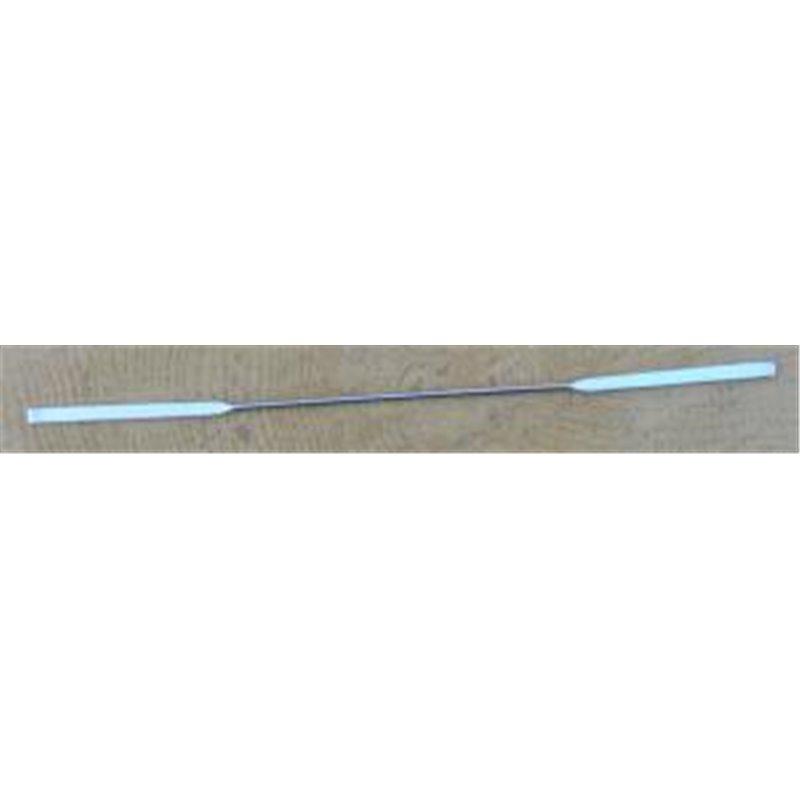 Micro-spatule longueur 150mm - 1 plat & 1 arrondi largeur 3mm x longueur 35mm