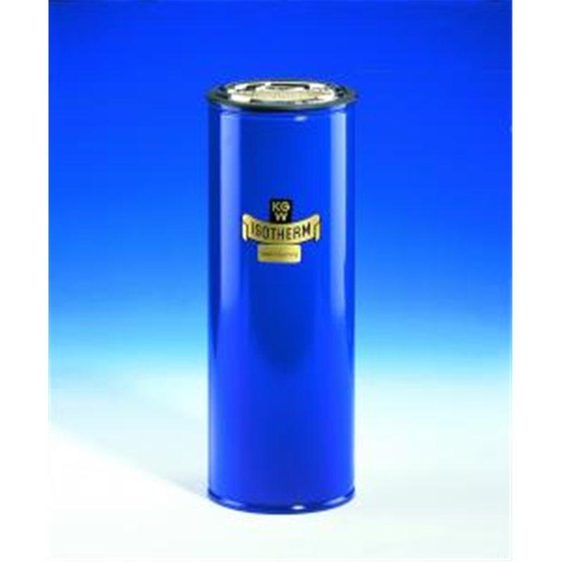 Vase Dewar gainage métallique 1.5 - Ø int.100mm x profondeur 240mm