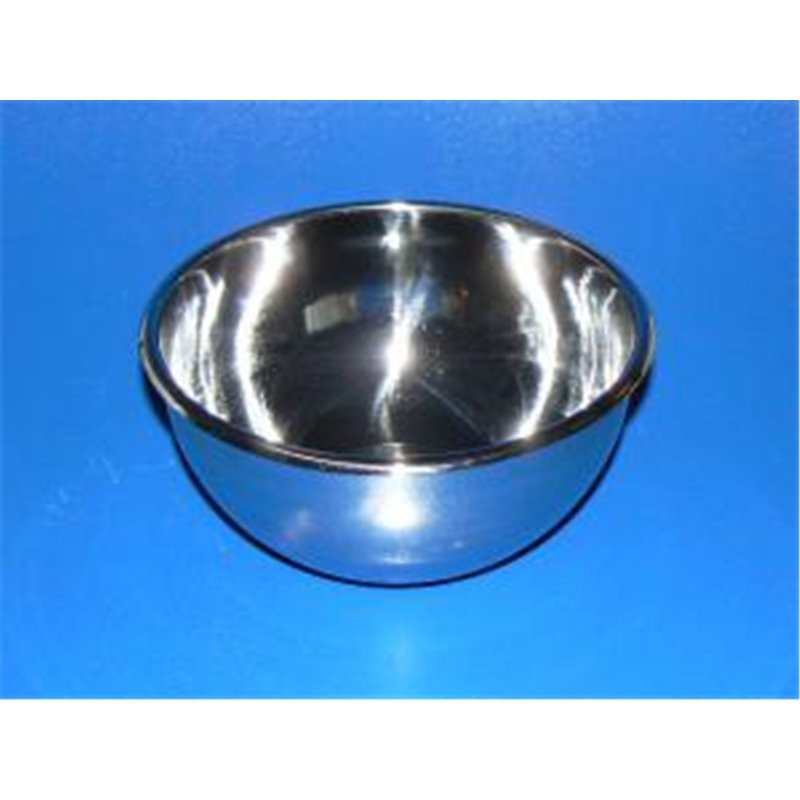 Capsule inox à fond plat - 250 ml - Ø ext. 120 x ht.60mm ***