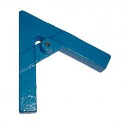 Support acier en forme de A - pieds longueur 200mm - pour tige Ø 12mm