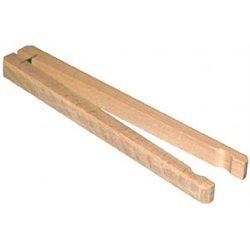 Pince en bois - à matras - à fermeture manuelle - ouverture Ø ~ 35mm - lg. 230mm