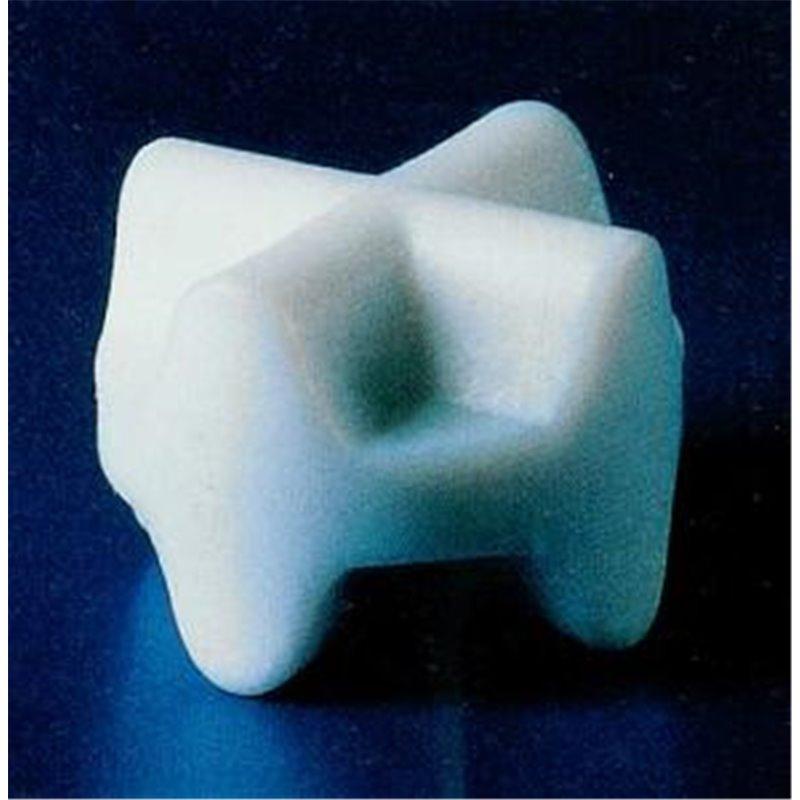 Barreau aimanté forme étoile double - Ø 10mm - épaisseur 8mm