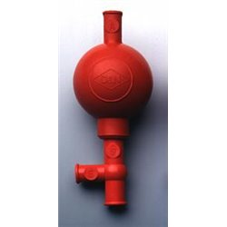 Poire à pipeter caoutchouc modèle standard - pipettes Ø 6 à 8mm