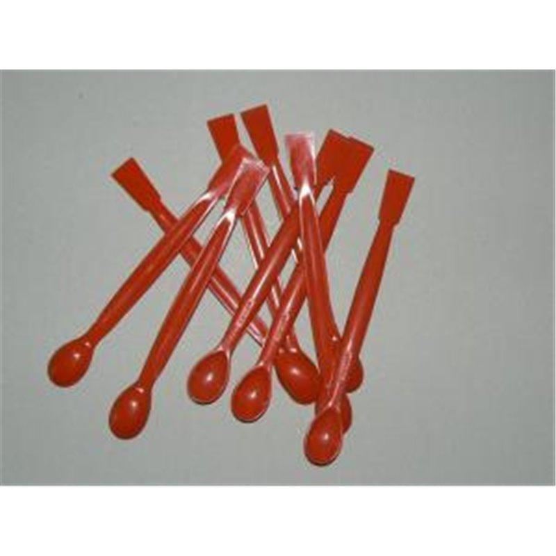Spatule plastique nylon/fibre verre - spatule double - Lg.150mm - x 10 pièces