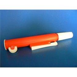 Pipeteur PI PUMP couleur rouge - pour pipettes capacité de 0 à 25ml