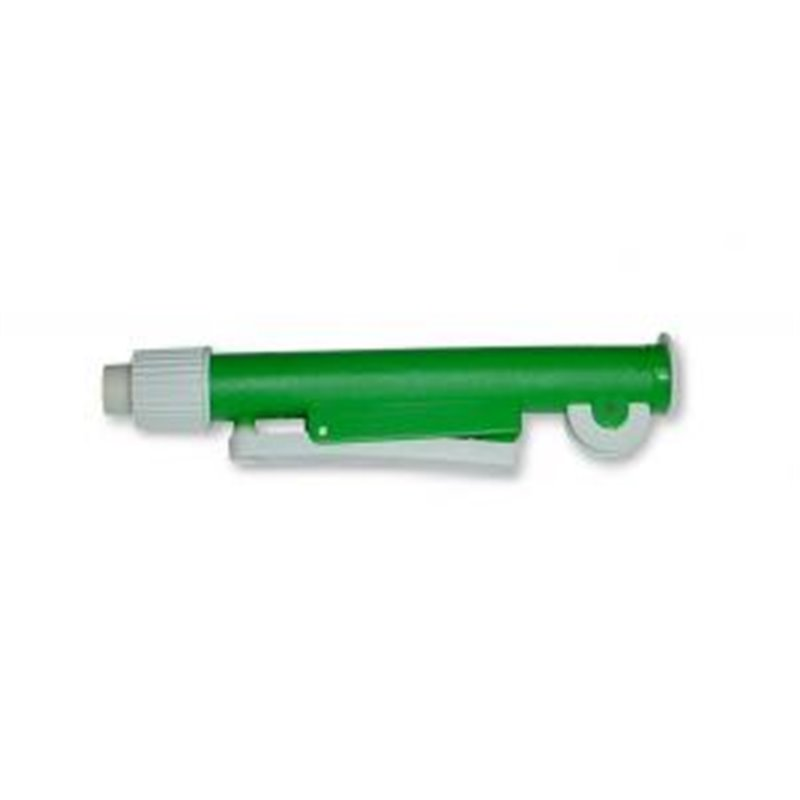 Pipeteur PI PUMP couleur vert - pour pipettes capacité de 0 à 10ml