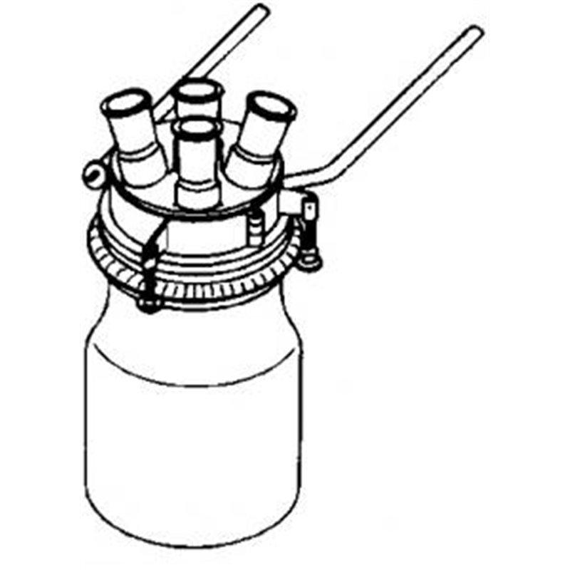 Fixation pour couvercle de réacteur dn 100