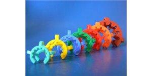 Clip plastique rodage conique
